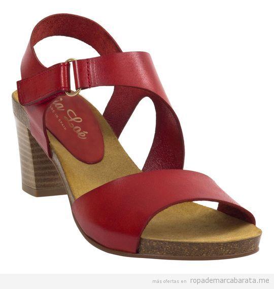 Sandalias de tacón marca Mia Loé baratas, outlet online