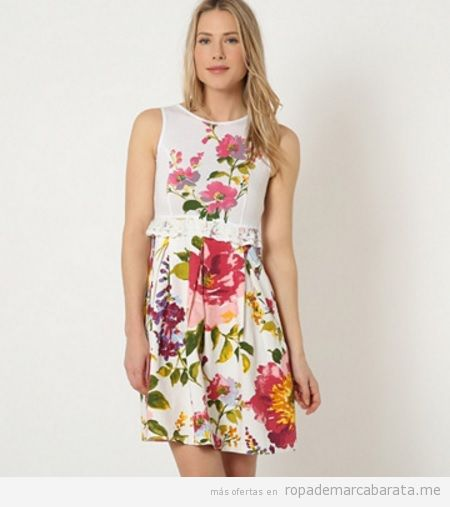 Vestido flores marca Savage Culture barato, outlet