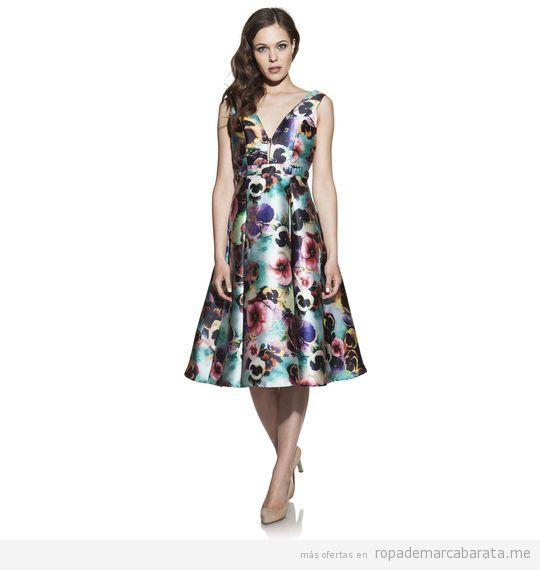 Vestidos elegantes para boda marca Barbarella baratos, outlet