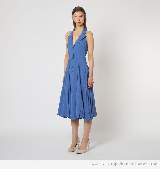 Vestidos de la diseñadora Isabel de Pedro baratos, outlet 3