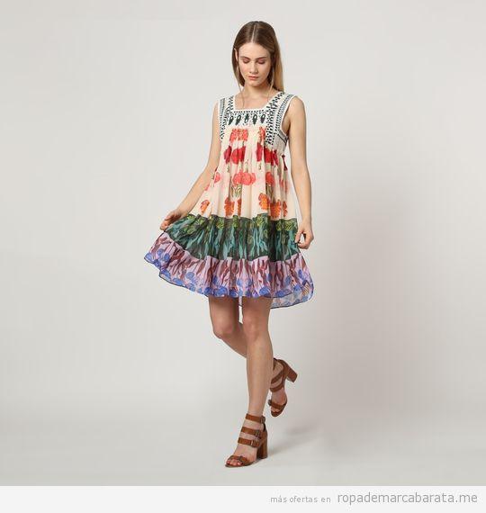 Vestidos marca Desigual baratos, outlet