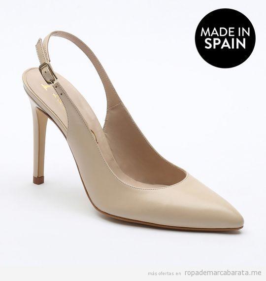 Zapatos tacón marca Paco Gil baratos, outlet