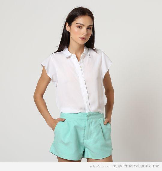 Camisa y shorts marca Victorio y Lucchino baratos, outlet