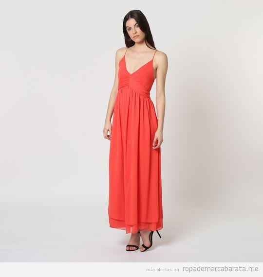 Vestidos largos de la marca Naf Naf baratos, outlet