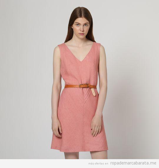 Vestidos cortos de lino marca Medwinds baratos, outlet