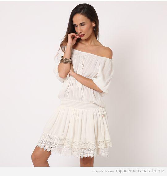 Vestidos fibras naturales marca Savage Culture baratos, outlet