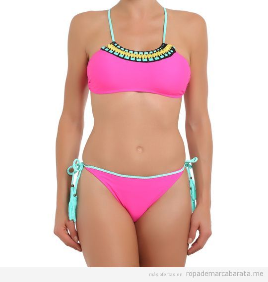 Bikini rosa marca Sweet secret barato, outlet