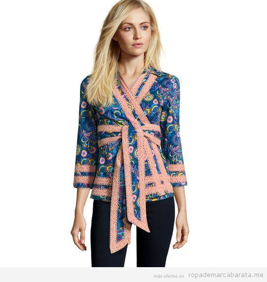 Kimono estampado marca Almatrichi barato, outlet