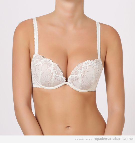 Sujetadores push up marca Wonderbra baratos. outlet 4