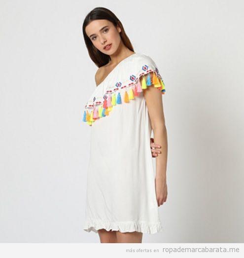 Vestidos borlas marca Anany La Morena barato, outlet