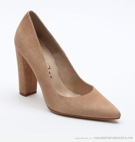 Zapatos tacón marca Paco Gil de rebajas, outlet