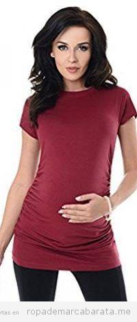 Camiseta para embarazadas elegante