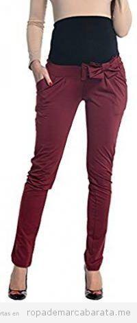 Pantalones embarazada elegantes
