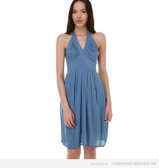 Vestido azul marca Zergatic barato, outlet