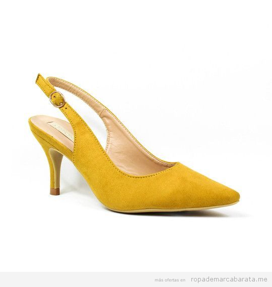 Zapatos tacón marca Buonarotti baratos, outlet