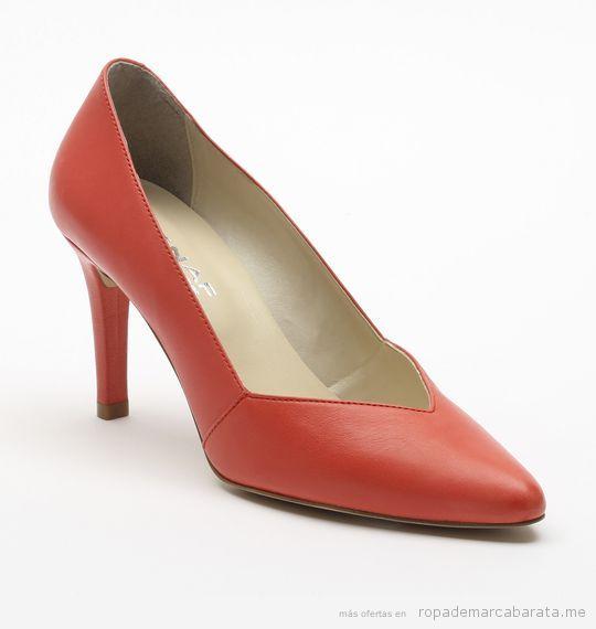 Zapatos tacón marca Naf Naf baratos, outlet