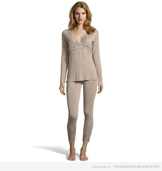 Pijama elegante mujer marca Guess barato, outlet