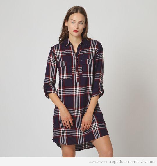 Vestido camisero marca Pimkie barato, outlet
