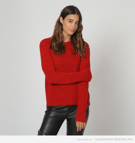 Jersey rojo marca Pimkie barato, outlet