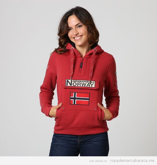 Sudaderas marca Geographical Norway baratas, outlet