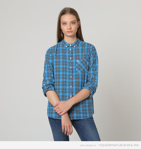 Camisa marca Fred Perry barata, outlet 2