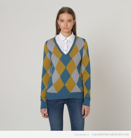 Jersey marca Fred Perry barato, outlet