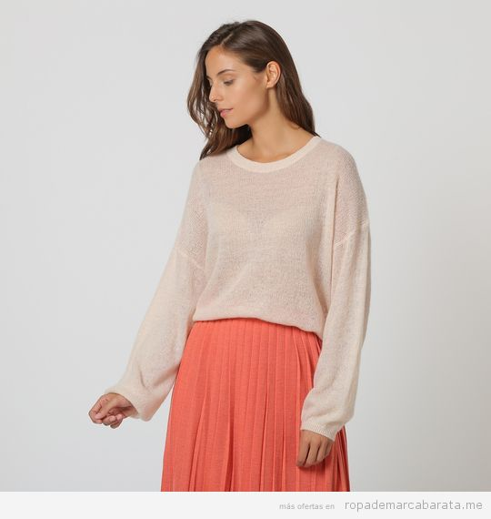 Jersey y falda de la marca Intropia baratas, outlet