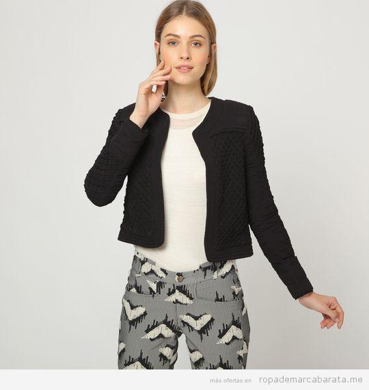 Chaqueta y pantalón estampado Vestido marca Intropia baratos, outlet