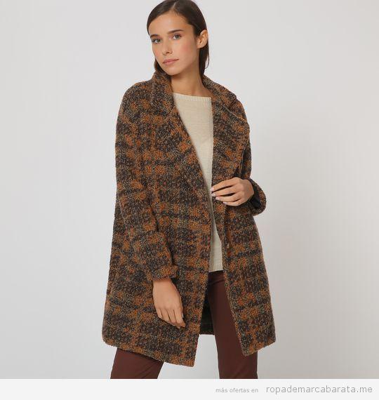 Abrigo cuadros marca Trucco barato, outlet online