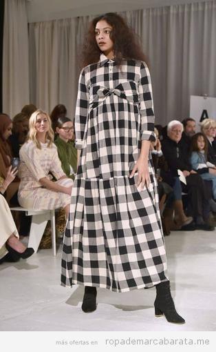 Vestido cuadros Mara Hoffman