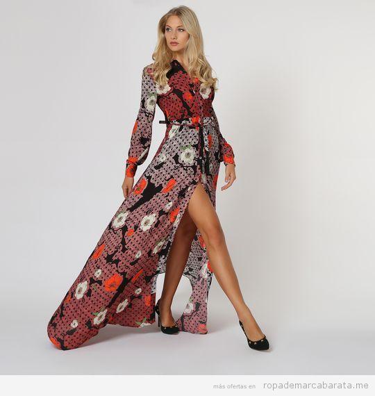 Vestido largo marca Dolores Promesa barato, outlet
