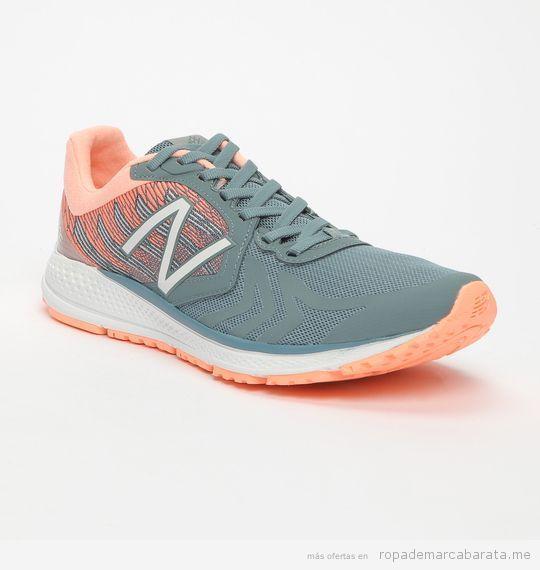 Zapatillas deportivas marca New Balance para mujer
