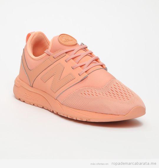 Zapatillas deportivas marca New Balance para mujer lifestyle 2