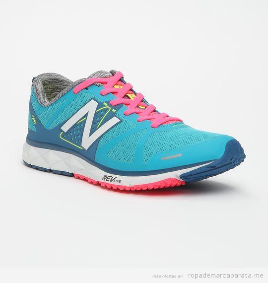 Zapatillas running marca New Balance para mujer lifestyle 2
