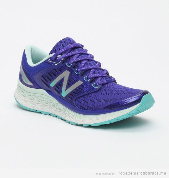 Zapatillas running marca New Balance para mujer lifestyle