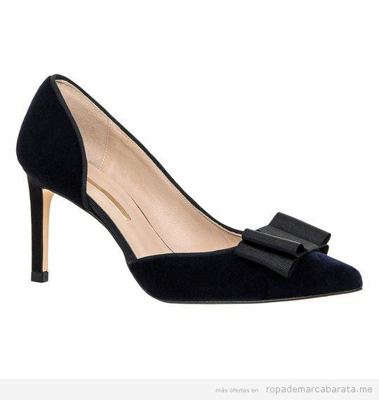 Zapato tacón fino marca Hannibal Laguna baratos, outlet