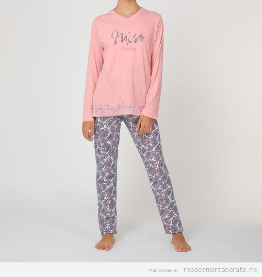 Pijamas bonitos para mujer baratos, outlet