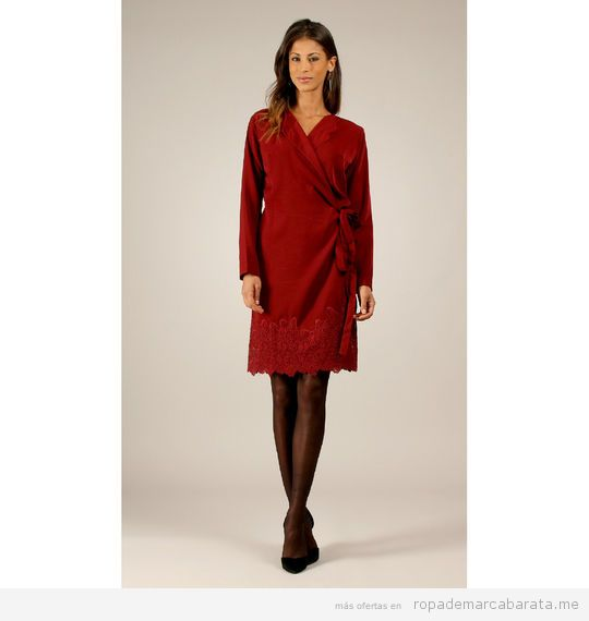 Vestido fiesta marca Miss June Rojo