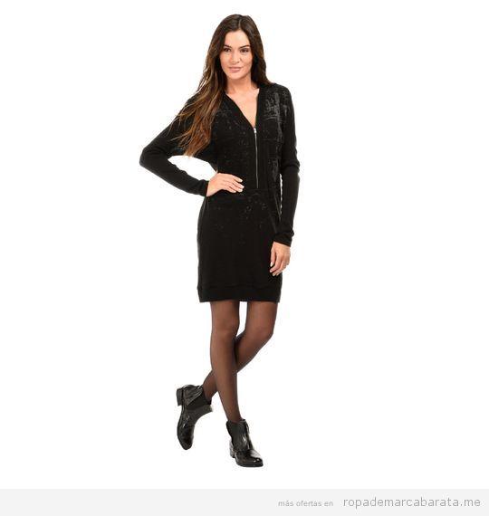 Vestido fiesta marca Mado Et Les Autres Negro barato, outlet