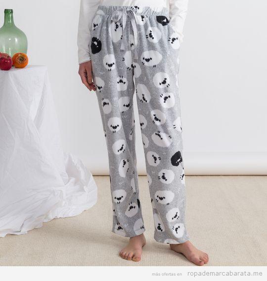 Pijama ovejas marca Oysho baratos, outlet 2