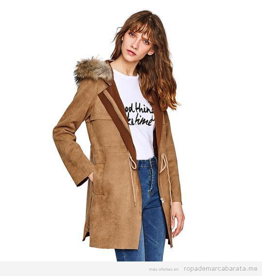 Abrigo de mujer marca Oeuvre Madrid barato, outlet