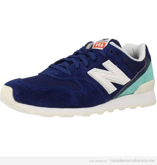 Zapatillas deportivas mujer marca New Balance baratas