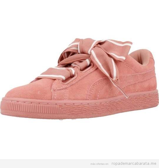 Zapatillas mujer marca Puma baratas, outlet