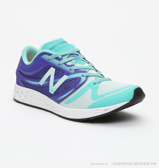 Zapatillas lifestyle marca New Balance baratas., outlet