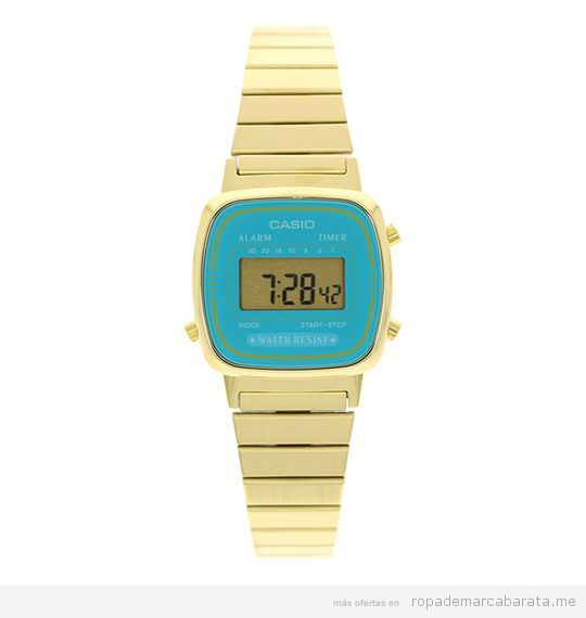 Relojes Casio mujer baratos, outlet 3