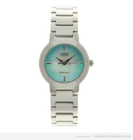 Relojes Casio mujer baratos, outlet