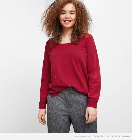 Ropa tallas grandes Violeta Mango, jersey