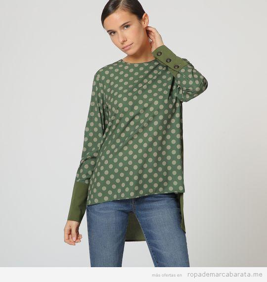 Blusa marca Victorio & Lucchino barata, outlet