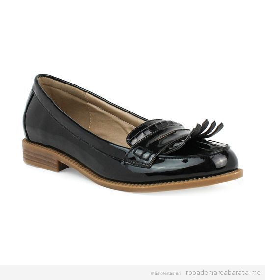 Zapatos mocasines marca Xti baratos, outlet