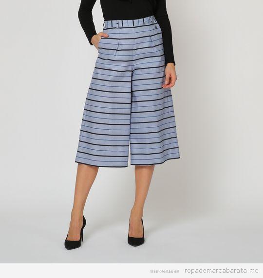 Pantalones marca Victorio & Lucchino baratos, outlet